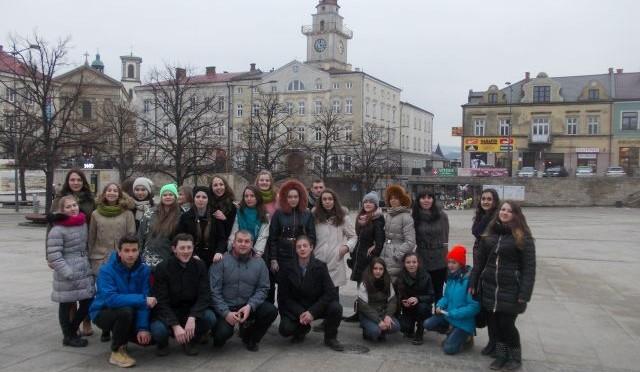 Młodzież z Ukrainy w Gorlicach