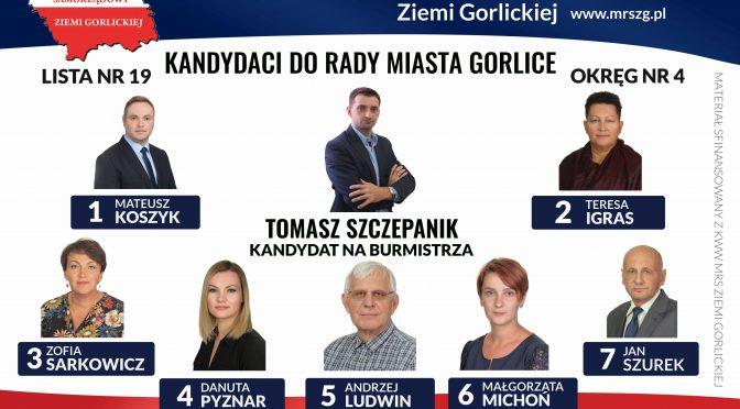 Kandydaci do Rady Miasta OKRĘG NR 4